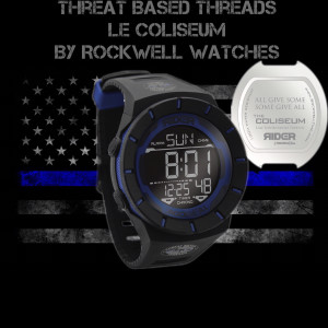 Threat Based Threads Coliseum Law Enforcement Edition by Rockwell Watches
